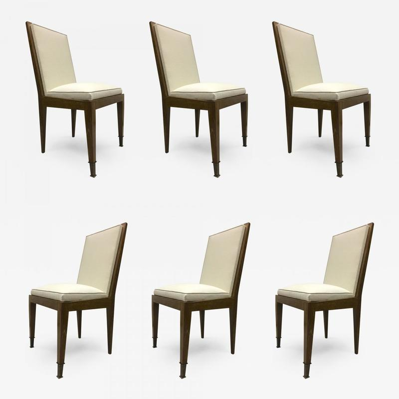 Stupendous Marc Duplantier Set Six Oak Dining Chairs Dining Search Caraccident5 Cool Chair Designs And Ideas Caraccident5Info