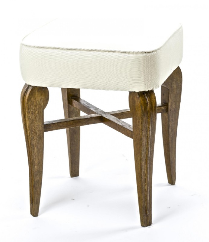 Pleasing Andre Arbus Attributed Stool Or Vanity Chair Galerie Andre Evergreenethics Interior Chair Design Evergreenethicsorg