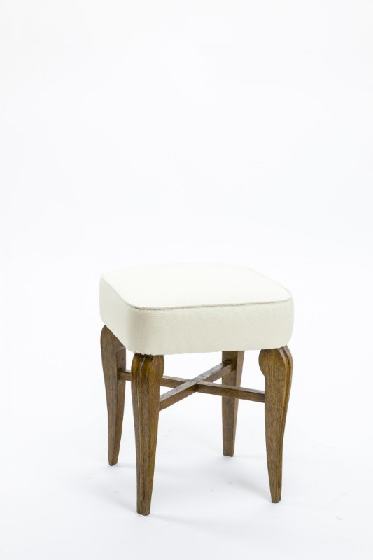 Phenomenal Andre Arbus Attributed Stool Or Vanity Chair Galerie Andre Evergreenethics Interior Chair Design Evergreenethicsorg
