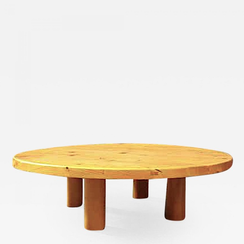 Charlotte Perriand For Les Arcs Stunning Big Pine Coffee Table
