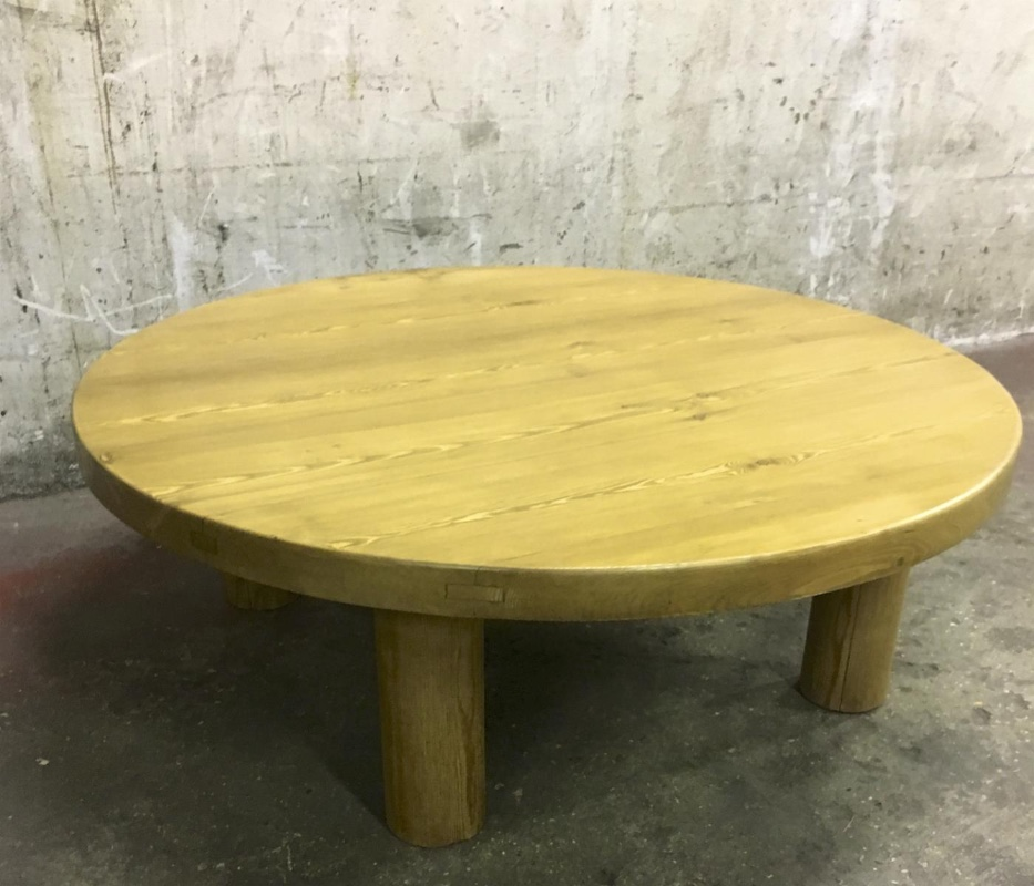 Phenomenal Charlotte Perriand Sturdy Pine Meribel Coffee Table Coffee Ocoug Best Dining Table And Chair Ideas Images Ocougorg