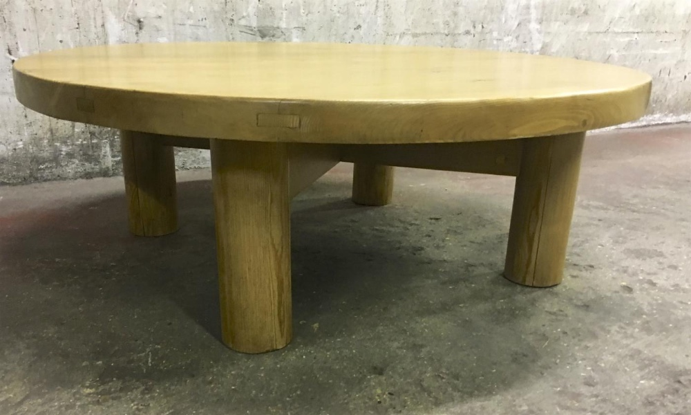 Astounding Charlotte Perriand Sturdy Pine Meribel Coffee Table Coffee Ocoug Best Dining Table And Chair Ideas Images Ocougorg